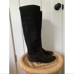 Diesel Black Leather Boots